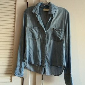 Anthropologie Chambray Shirt