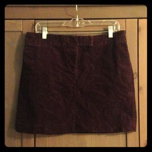 J. Crew corduroy mini skirt