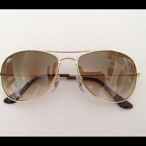 38afe21be0 RayBan Cockpit Light Brown Gradient Sunglasses. M 5416ee59e6ce2838aa275655