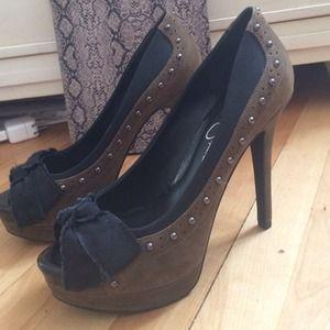 Jessica Simpson - Studded Heels