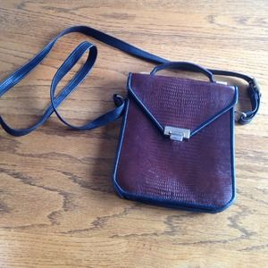 Vintage Accordion Crossbody Purse