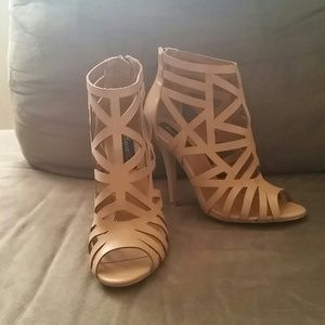Nude Gladiator Heels 7.5 from Jessica&39s closet on Poshmark