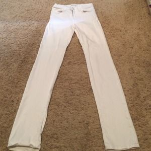J Brand Denim - J brand white stretchy jeans, super soft