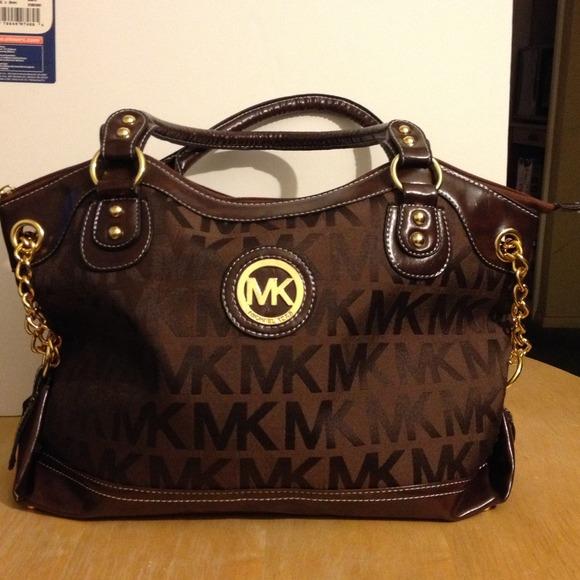 291dbcba58d2a2 Michael Kors Bags | Mk Bag Dark Brown | Poshmark