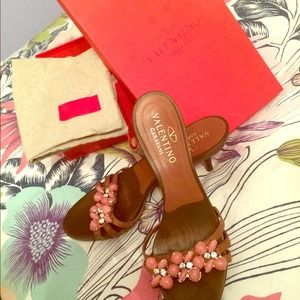 Authentic Valentino clogs