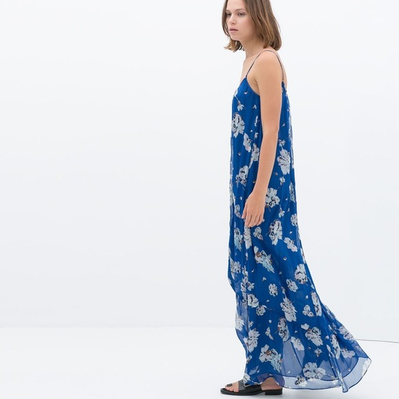 Maxi dresses from zara