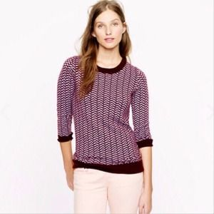 💕 NWOT J Crew Collection herringbone cashmere