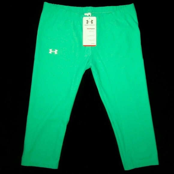 64% off Under Armour Pants - NWT 2 Pairs Under Armour Green ...