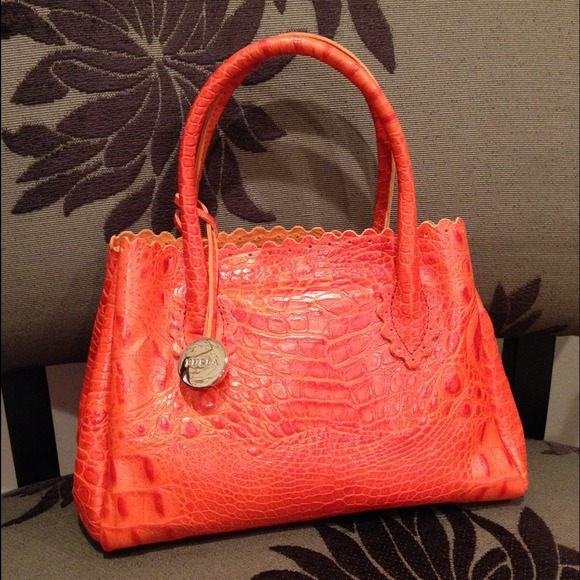 25% off Furla Handbags - ✨FURLA Crocodile Patterned Leather ...