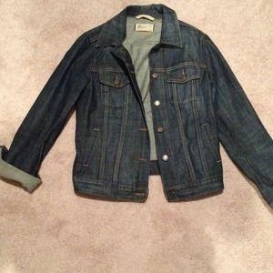 Gap dark wash denim jacket
