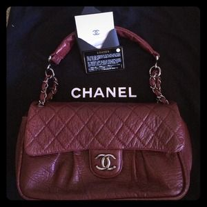 Reduced Price! CHANEL Calfskin Flap Bag