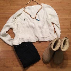 Acrobat Sweaters - 🆕Acrobat Boatneck Rib Knit Sweater
