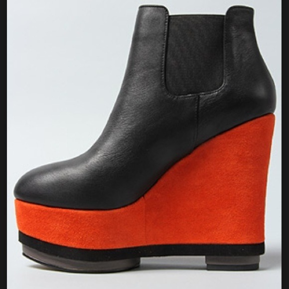 dolce vita color blocked boot wedge from s closet