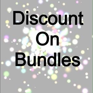 Discount on bundles (: ask anything !
