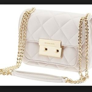 Michael Kors white sloan quilted