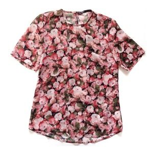Zara Tops - SALE - Zara sheer floral tee