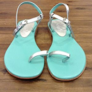 cocobelle Shoes - Cocobelle turquoise and silver sandal