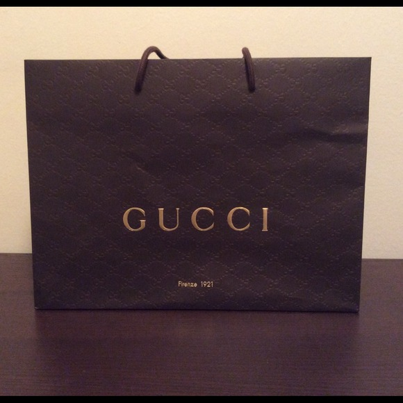 a9705aeca8e Gucci Other - Medium Gucci shopping bag  gift bag   tote