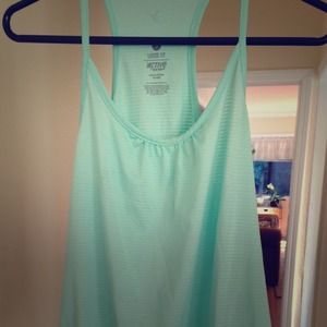 Old Navy Active Loose Fit Tank in Mint