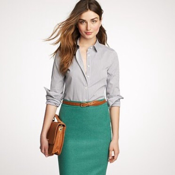 J. Crew - BUNDLED! 💛 j. crew // no. 2 pencil skirt in wool from ...