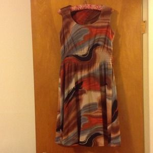 Funky vintage fall dress