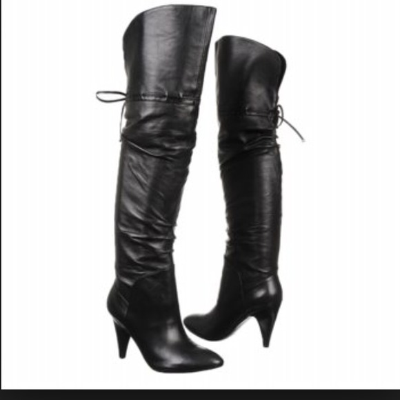35 guess shoes new guess otk leather boots tight