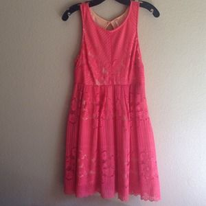 Free People coral dress