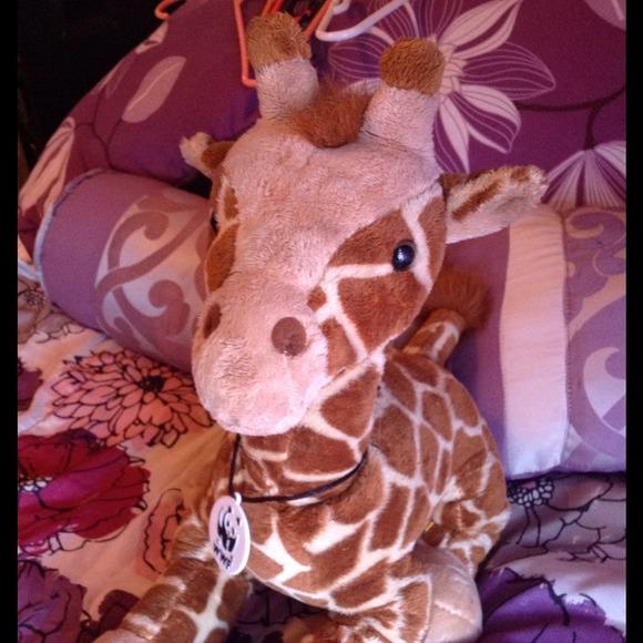 Build A Bear Giraffe Wwf