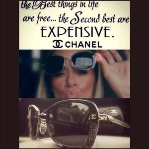 🔴MEGA SALE🔴💯%Auth CHANEL SUNGLASSES