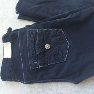 People's Liberation Black Skinny Jeans. Size 25.