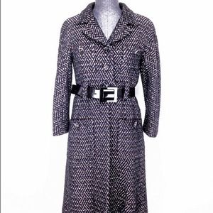 Chanel 07A Size 38 Belted Boucle Coat NEW