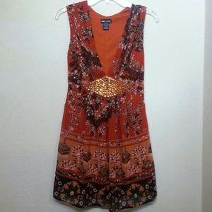 floral print dress NWOT