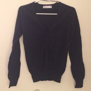 Sweaters - Black Zara cardigan