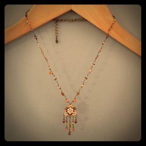 Adjustable Jeweled/Beaded Necklace