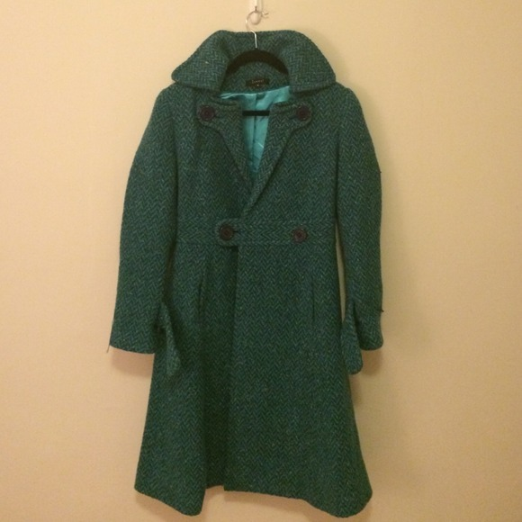 86% off Outerwear - Gorgeous wool teal wool coat by Jungal from ...