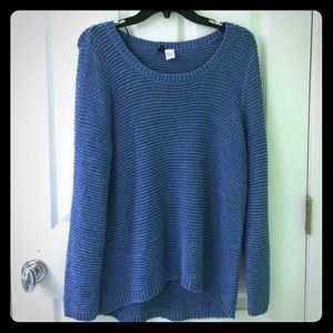 H&M brand Divided blue sweater