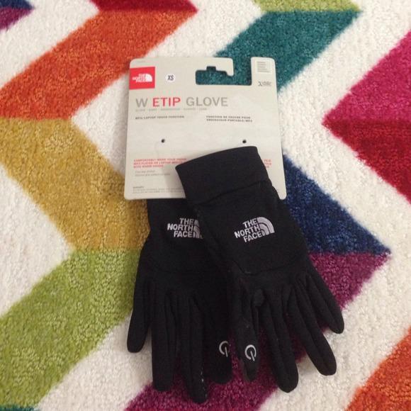 b9978144e Northface E-tip Gloves NWT