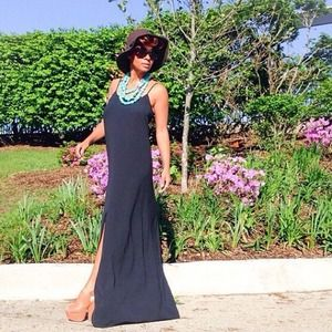 Dresses & Skirts - Maxi Black Dress