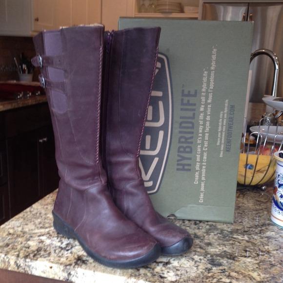f53795de7cdf Keen Shoes - Keen Bern Baby Bern Leather Boots sz 7
