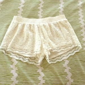 Hollister Lace Shorts