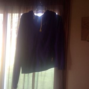 Purple Nike Zip up