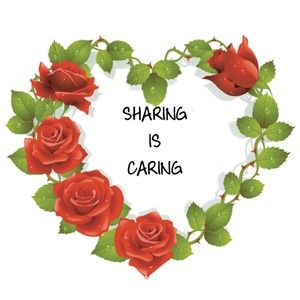 Sharing is caring. I will always share your stuff!