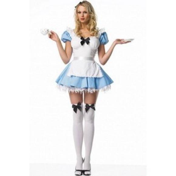 leg avenue blue alice halloween costume