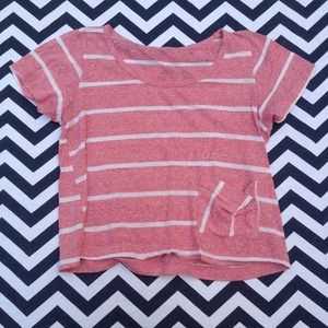 Tops - Pink Striped Top