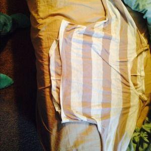 A long sleeve striped crop top!!
