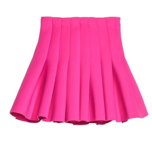 17 h m dresses skirts h m pink skater skirt
