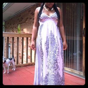 Dresses & Skirts - Maxi Dress with spaghetti straps
