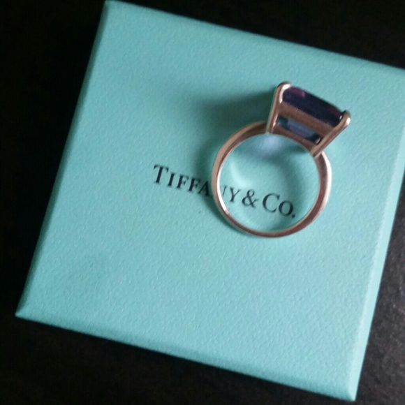 ab2244cd0 ... jewelry tiffany co sparklers amethyst cocktail ring ...