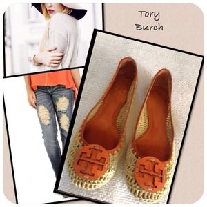 ❤️Host Pick. Authentic Tory Burch Ballet Flats