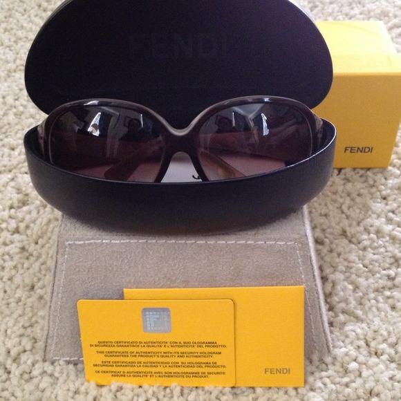 7dee52cb054c FENDI Accessories - FENDI monogram sunglasses. Authentic REDUCED